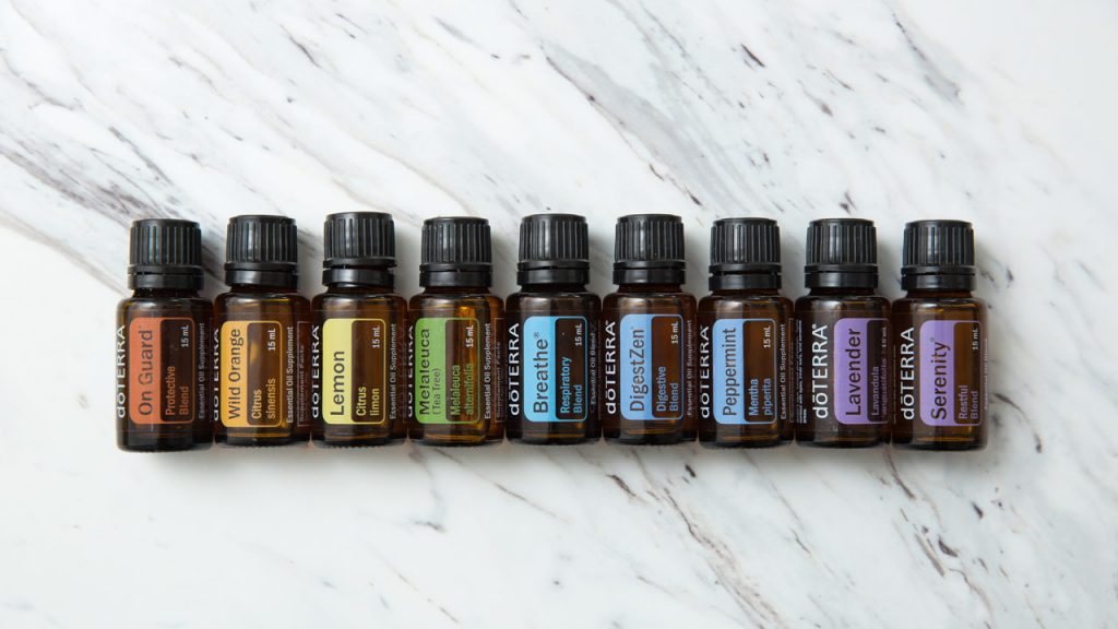 doTERRA top essentials oils oils