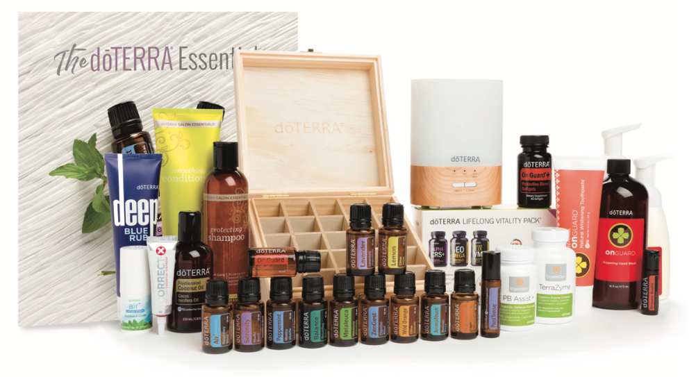 NATURAL SOLUTIONS ENROLLMENT KIT doTERRA